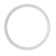 "6.0"" White Silicone I-Line Style Sanitary Gasket"