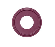 "1.0"" Purple Buna Metal Detectable Sanitary Gasket"
