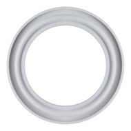 "2.5""  White Silicone Q-Line Style Sanitary Gasket"