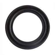 "4.0""  Black EPDM Q-Line Style Sanitary Gasket"