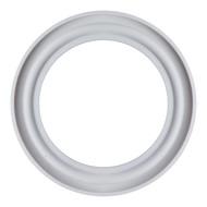 "4.0""  White Teflon Q-Line Style Sanitary Gasket"