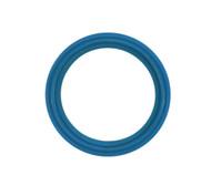 "2.0"" Blue EPDM Flat/Beaded Tri Clover Gasket"