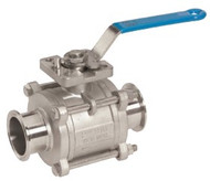 "Dixon 4"" Encap. 15% Glass reinforced Ball Valve"