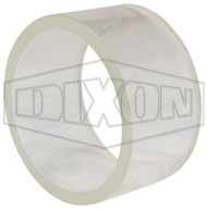 "Dixon 1 1/2"" Borosilicate glass replacement"