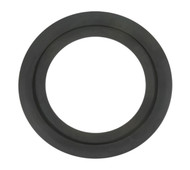 "19 1/2"" ID Modified Black EPDM Full Face Gasket w/bead"