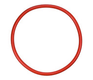 "17 7/8"" ID Spliced Silicone O-ring Lid Gasket"