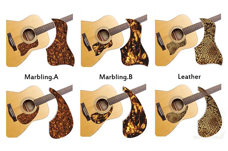 healing shield acoustic guitar pickguard wild theme sv guitars. Black Bedroom Furniture Sets. Home Design Ideas