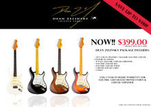 Dean Zelinsky Guitar Promotion Package