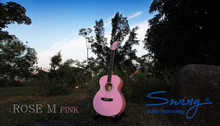 Swing Rose M Pink Acoustic Guitar