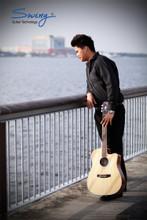 Swing Rose 73 NAT Acoustic Guitar w/Artec FTE-3TN EQ