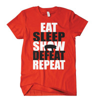Eat Sleep Defeat Tee