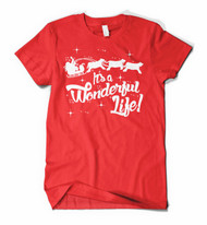 It's A Wonderful Life Holiday Tee