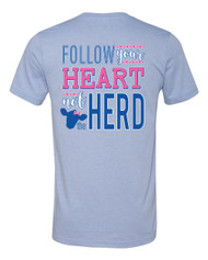 Follow Your Heart Not The Herd Tee