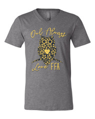 Owl Always Love FFA V-Neck Tee