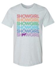 Showgirl Rainbow Tee