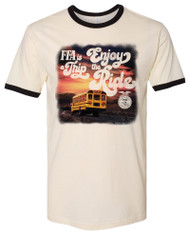 FFA Enjoy the Ride Ringer Tee