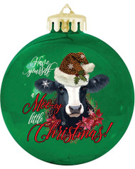 Mooey Christmas Ornament