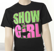 Youth Show Girl Neon Glow-In-The-Dark Tee