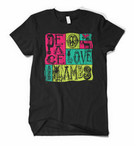 Little Showgirls Peace, Love Tee