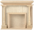 Monticello Dollhouse Fireplace - Turnings