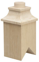 Square Dollhouse Chimney 1pc/pkg
