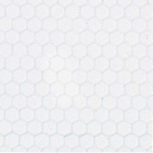 Dollhouse Flooring Installation: White Small Hex Vinyl Dollhouse Tile Floor