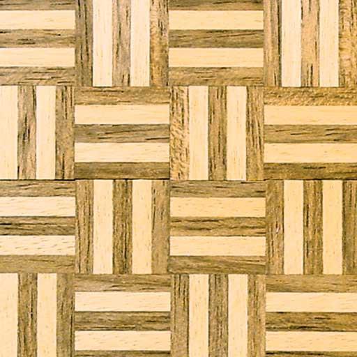 "Dollhouse Parquet Flooring: Parquet Dollhouse Wood Floor 6-2x6""pc/pkg"