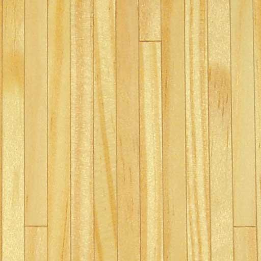 Dollhouse Flooring Installation: Southern Pine Dollhouse Wood Floor