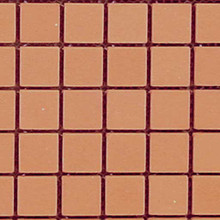 Dollhouse Brick Siding Patio Clay Brick Sheet Mesh