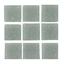 Dollhouse Grey Glass Mosaic Tile Sheet