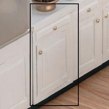 """Dollhouse Kitchen Furniture 2.0"""" Base Kit Unfinished"""