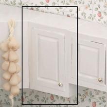 "Dollhouse Kitchen Furniture 1.5"" Up Cab Kit Unfinished"
