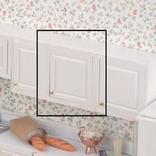 """Dollhouse Kitchen Furniture 2.0"""" UpCab Kit Unfinished"""