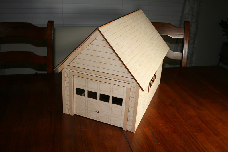 Standard 1 Quot Scale Garage Kit Victorian Dollhouse