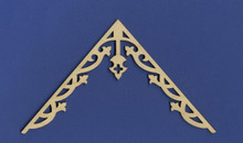 Victorian Doll House Apex Gable Trim
