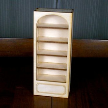 Dollhouse Bookcase - Single Kit