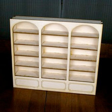 Dollhouse Bookcase - Kit
