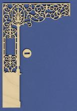 Miniature Ornate Victorian Half Wall II