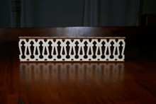 Victorian Dollhouse Baluster Railing
