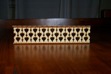 Unsanded Victorian Dollhouse Porch Railing Baluster
