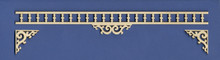 Victorian Dollhouse Fretwork Adjustable Spandrel