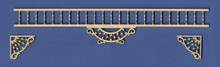 Victorian Dollhouse Spandrel Adjustable Fretwork