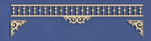Victorian Dollhouse Adjustable Spandrel Fretwork