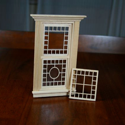 Victorian Dollhouse Mullion Fitting For Hw 5051 Dual