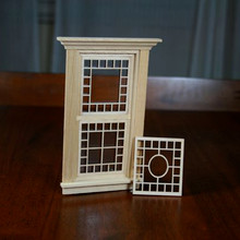 Victorian Dollhouse Oval Design - Window Mullion