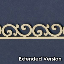 Victorian Dollhouse Trim A - Extended
