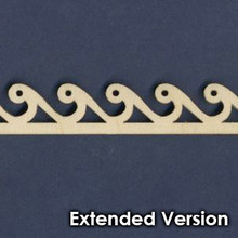 Victorian Dollhouse Trim E - Extended