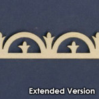 Victorian Dollhouse Trim H - Extended