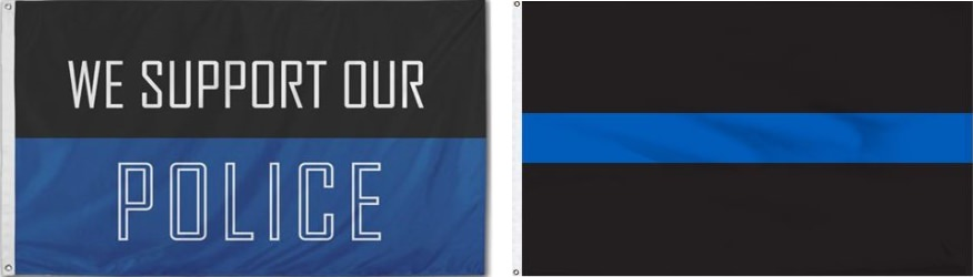 Veterans Flag Depot Supports Our Men & Women Of Law Enforcement. Click Here To Show Your Support.