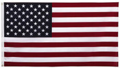 3x5 American Flag Poly Cotton